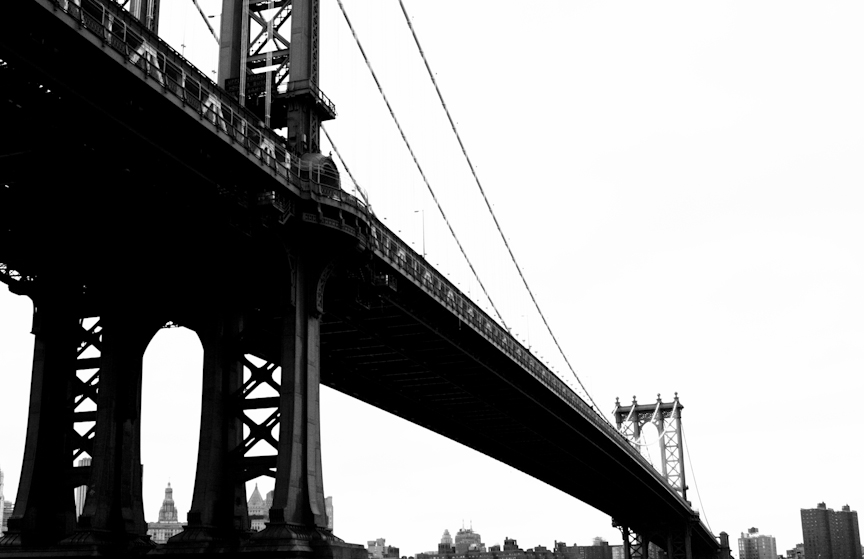 Manhattan Bridge by Sebastian Smith