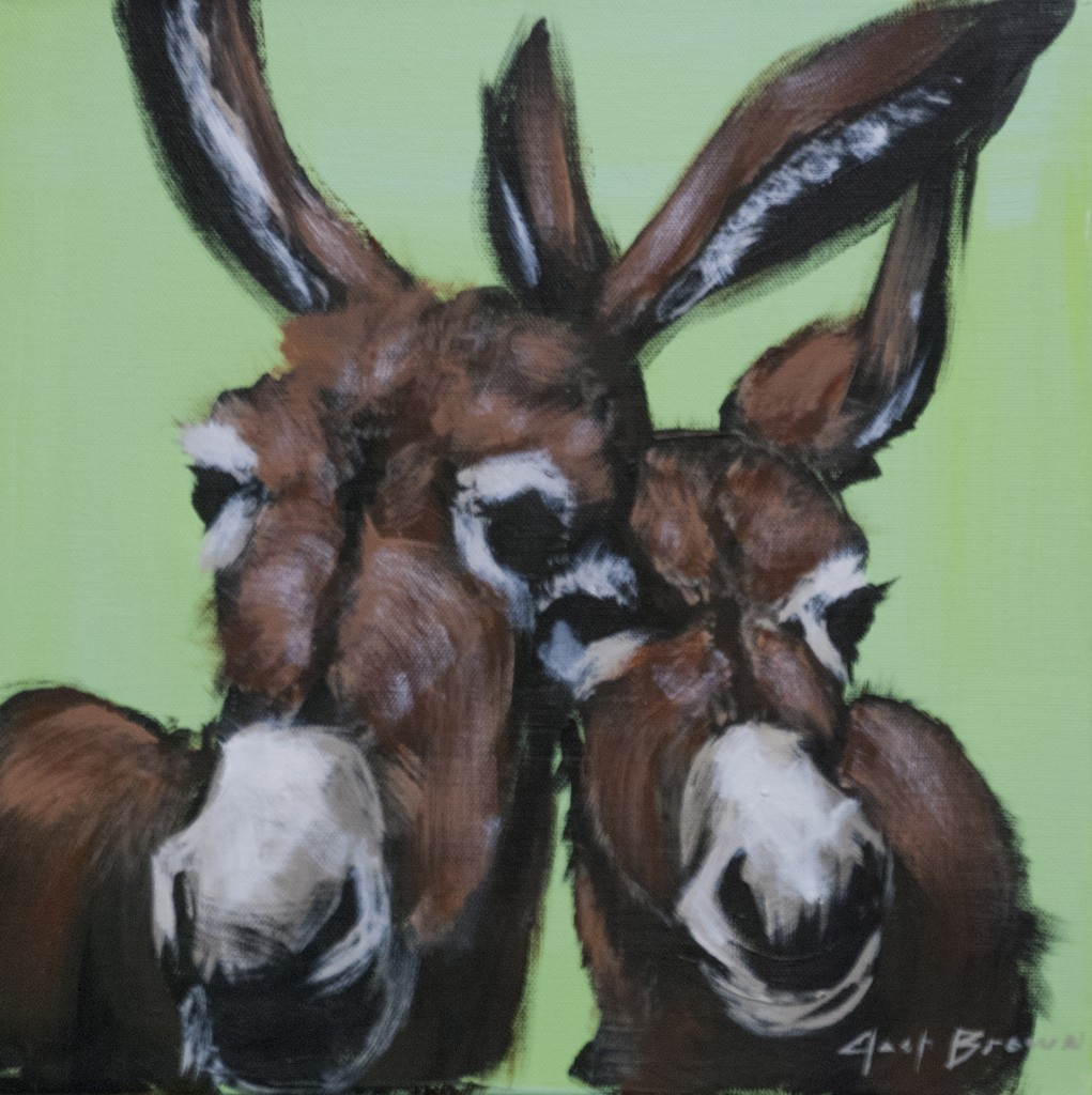 Two Mint Donkey by Josh Brown